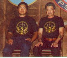 Om Rudy with Guru Andre